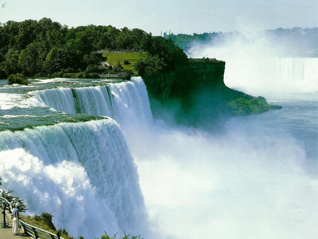 Водопад водопады природа