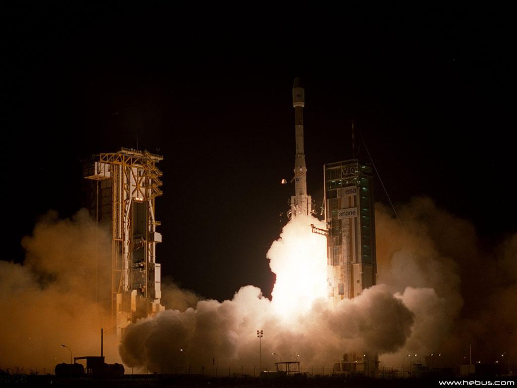 Запуск космической ракеты - Masik TV