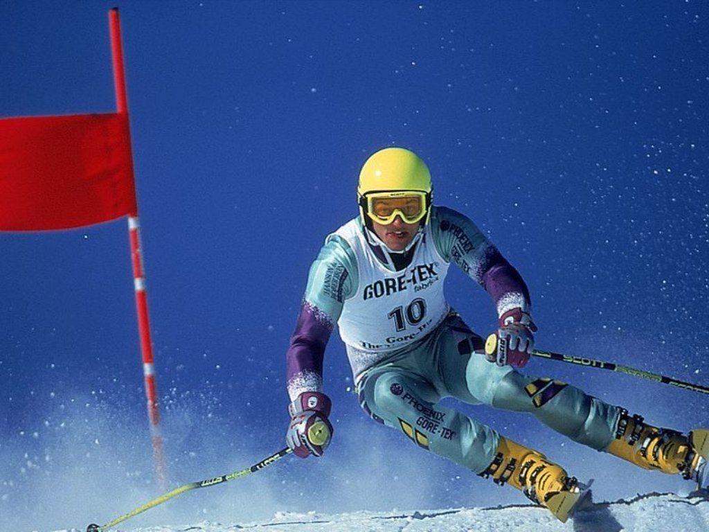 Спорт лыжи спорт нажми
